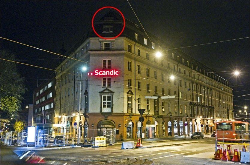 HOVEDKVARTER: Her, like ved den amerikanske ambassaden i Oslo, skal gruppen hatt sitt hovedkvarter. Men i sommer flyttet de ifølge TV 2 ut derfra. Foto: Frode Hansen