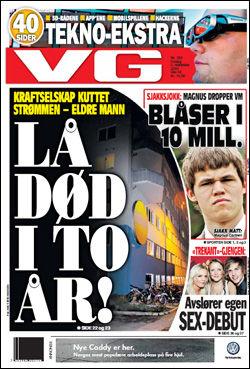 Faksimile: VG (5. november 2010)