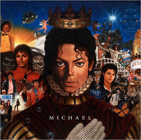 NYTT ALBUM: Slik ser coveret på det kommende Michael Jackson-albumet ut. Foto: AP
