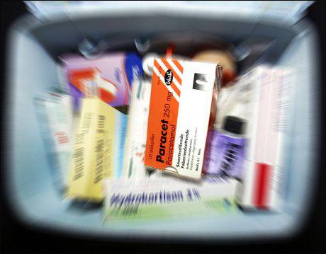 SMERTESTILLENDE: Paracetamol hemmer i følge forskere dannelsen av det mannlige kjønnshormonet testosteron. Foto: Illustrasjonsfoto: SCANPIX