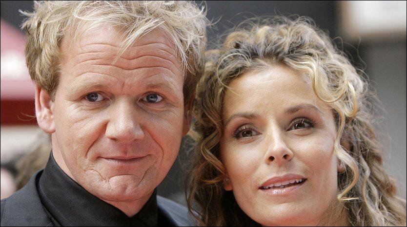 SPRØ KOKKEKRANGEL: Gordon Ramsay og kona Tana har en vond, offentlig krangel gående med hennes foreldre. Foto: PA Photos.