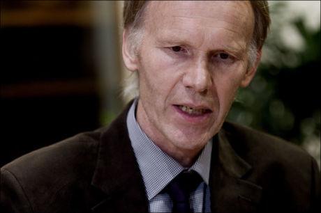 REAGERER: Styreleder Bertran Trane Skadsen i Norsk Pelsdyralslag har fått mange ubehagelige meldinger. Foto: Scanpix