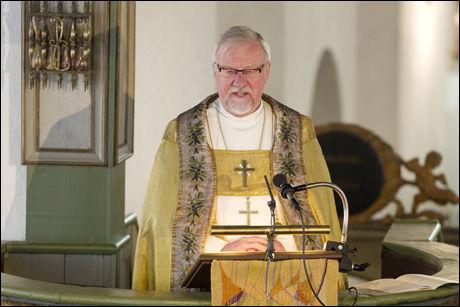 - I SAMTALER: Oslo-biskop Ole Christian Kvarme bekrefter at han er i samtale med Einar Gelius. Foto: Håkon Mosvold Larsen/ Scanpix