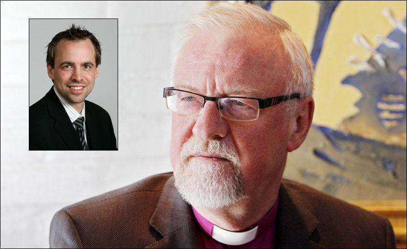 ANGREP: Arbeiderpartiets Arild Stokkan Grande kaller biskop Kvarme for Mullah på Twitter. Foto: Scanpix.