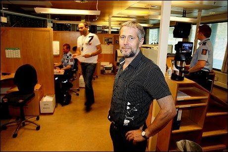 KLAR TALE: Leder Arne Johannessen og resten av Politiets Fellesforbund krever en halv milliard kroner ekstra. Foto: Knut Erik Knudsen / VG
