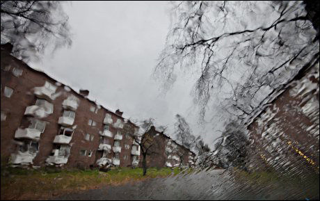 SLUM-STEMPLET: Sinsenveien 56-74 i Oslo er stemplet som slum. Foto: Annemor Larsen
