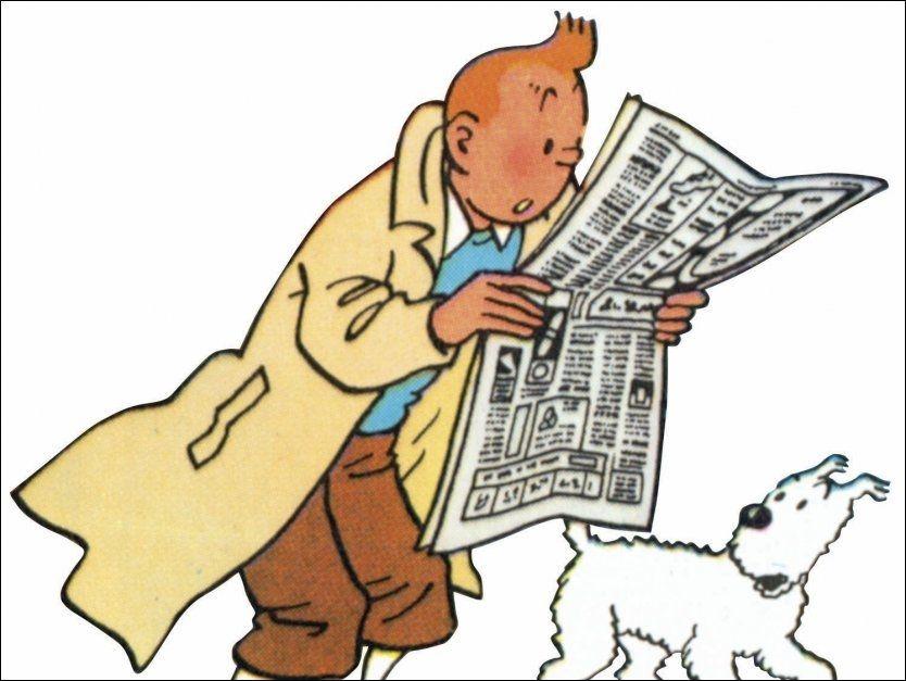- RASISTISK: Bienvenu Mbutu mener serieheftet «Tintin i Kongo» gir et rasistisk bilde av Afrika. Foto: