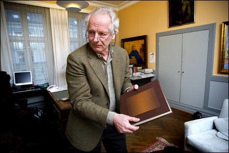 BLE SKUTT: Forlagssjef William Nygaard ble utsatt for et attentat i 1993. Foto: Jan Petter Lynau