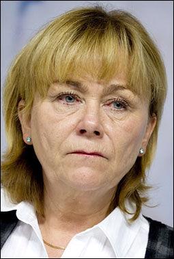 VET IKKE NOE: Sveriges justisminister Beatrice Ask. Foto: AP