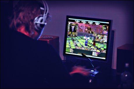 SKADELIG? Utdanningsforbundet mener at gutters dataspilling går utover leseferdighetene. Foto: Mattis Sandblad