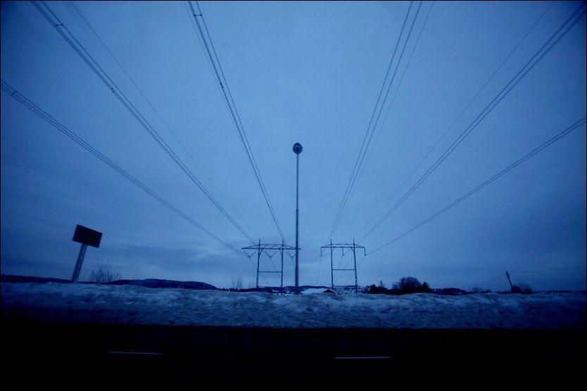 DYRT: Folk må belage seg på å betalte dyrt for strømmen i vinter. Foto: Scanpix