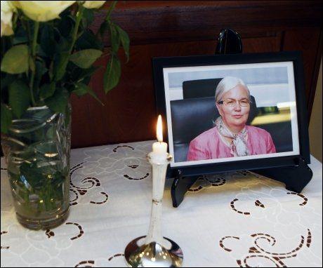 BEGRAVES FREDAG: Skipsrederenken Ellen Ugland begraves i Fjær kirke på fredag. Foto: Petter Emil Wikøren