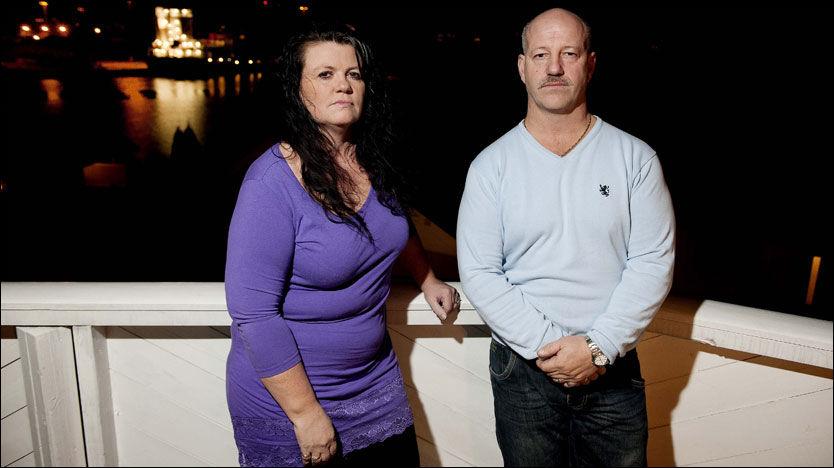 FORTVILER: Heidi Christie-Otnes og Leif Bratein frykter at de som tappet kontoen til faren visste at han var død - uten å si fra. Foto: Espen Braata