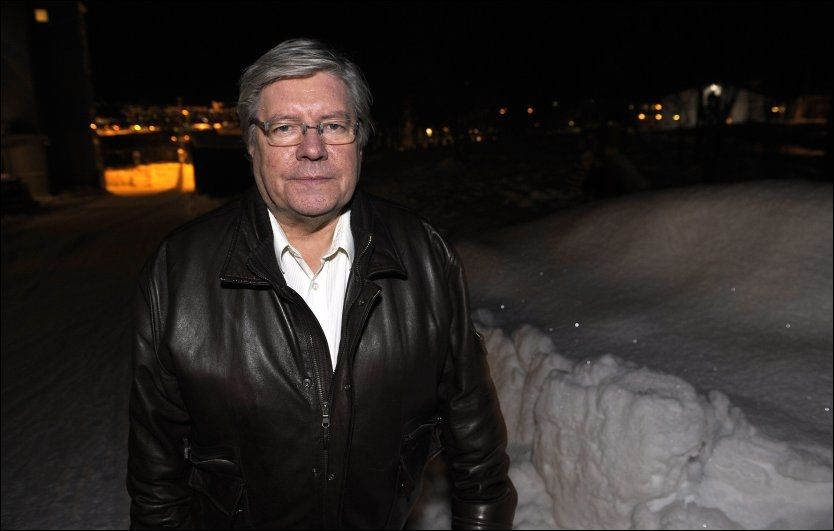 RYSTET: Barnepsykolog Willy-Tore Mørch syntes det er fullstendig uakseptabelt at søskenflokken på tre mindreårige barn ble overlatt til seg selv gjennom julen. Foto: TERJE MORTENSEN / VG