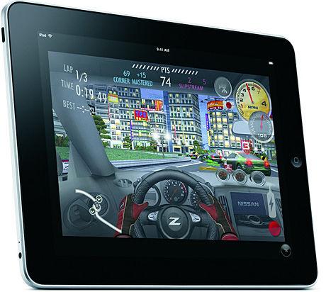 KJEMPESATSING: Apple satser stort med sin iPad - også for å kapre det håndholdte spillmarkedet. Foto: APPLE