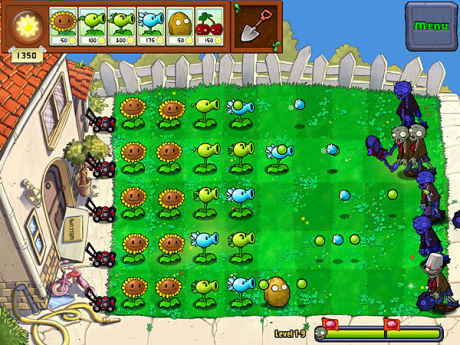 Plants vs. Zombies. Foto: POPCAP GAMES