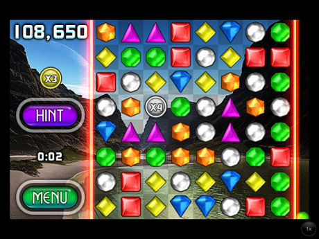 Bejeweled. Foto: POPCAP GAMES