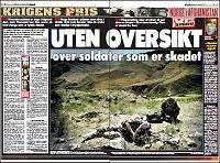 48 norske soldater skadet i Afghanistan