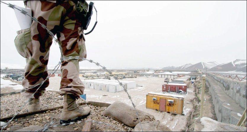 FLERE SKADET: Her, i områdene rundt operasjonsbasen FOB Ghowrmach nordvest i Afghanistan, har flere av de hardeste kampene mellom norske soldater og opprørere stått de siste årene. VG har denne uken avslørt at over 50 norske soldater er skadet i Afghanistan. Foto: FORSVARET