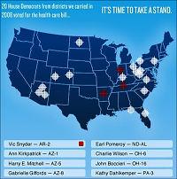 Palin siktet på Giffords som «politisk mål»