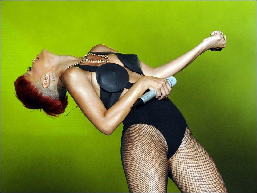 HOT: Rihanna spiller i Norge 30. oktober. Foto: AFP