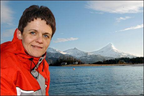 SISTEPLASS: Fiskeriminister Lisbeth Berg-Hansen. Foto: Terje Solberg