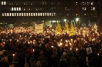 Tusenvis i demonstrasjon for Maria Amelie