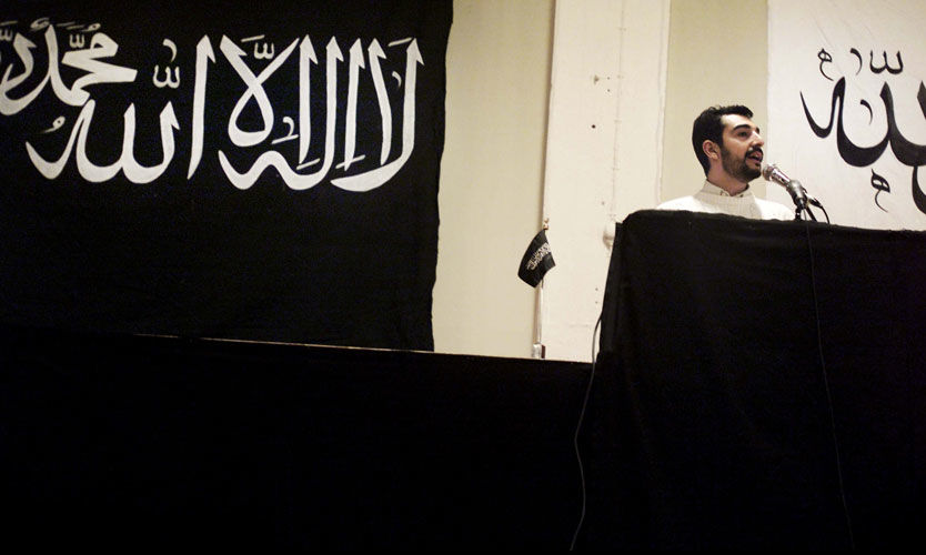 EKSTREMISTER: Gruppen Hizb ut-Tahrir er kjent for sine radikale holdninger. Foto: Kim Nielsen / Ekstra Bladet