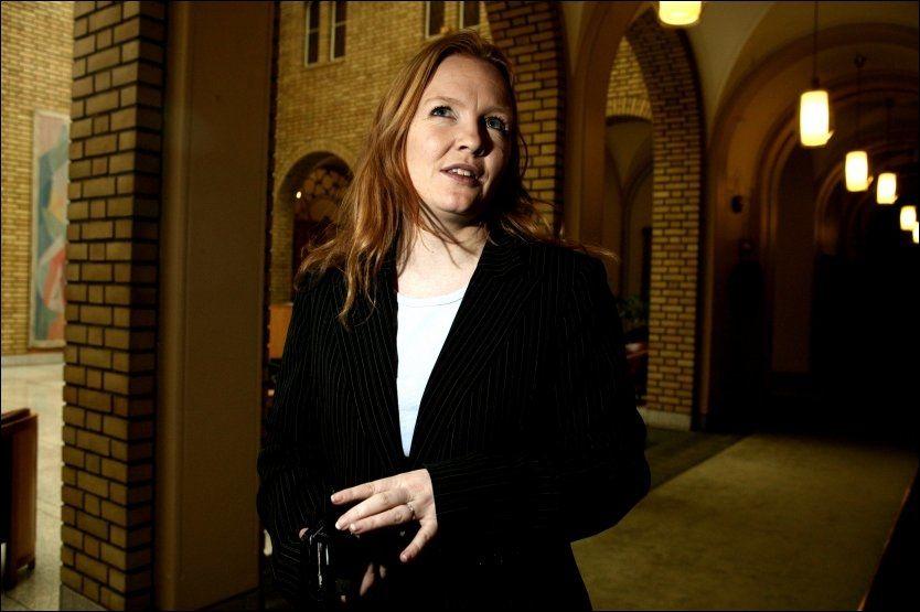 VIL HA MOBBEFORBUD: Dagrun Eriksen, nestleder Kristelig Folkeparti, ønsker mobbeforbud . FOTO: FRODE HANSEN/ VG