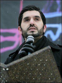 BEKYMRET: Den profilerte muslimske debattanten Usman Rana. Foto: Scanpix