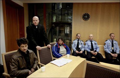 TIGGERNES UTFORDRING: Rumenske Iuliana og mannen hennes er tiltalt for heleri. Politiet tror ikke på historien om diamantringen. - Den er hverken meldt stjålet eller mistet. Anklagen er basert på at vi ikke tror de snakker sant, hevdet Iulianas forsvarer Øystein Sterri i Oslo tingrett. Foto: Annemor Larsen