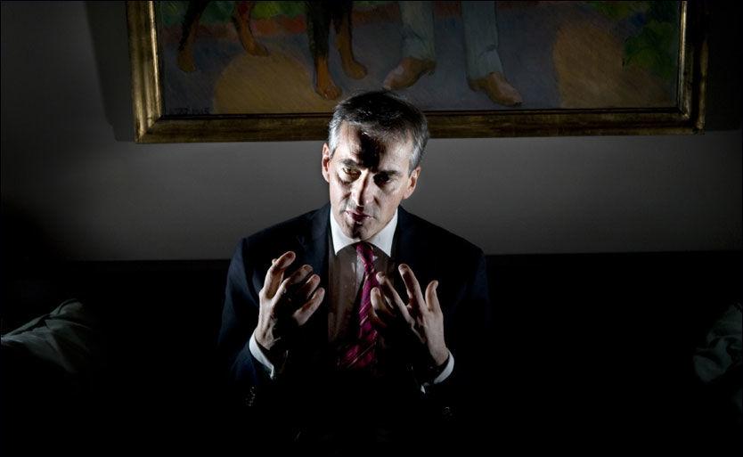 HADDE KONTAKT MED HAMAS: Utenriksminister Jonas Gahr Støre (Ap) avviser at opposisjonen har noen grunn til å føle seg lurt. Foto: ROBERT S. EIK / VG