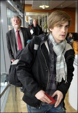 PAPIRLØS: Maria Amelies kjæreste, Eivind Trædal, mangler de nøvdendige papirene for å oppholde seg lovlig i Russland. Foto: Terje Mortensen