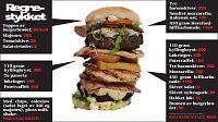 To dagers kaloriinntak - i én burger!