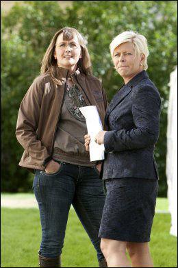 SAMMEN MED SIV: Grethe Enlid og hennes private omsorgssenter i Trondheim var arena for Frps valgkampåpning i 2009. Foto: Scanpix