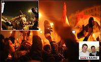 Demonstrantene raser i Kairo - hånet Mubarak etter talen