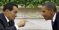 Obama ber Mubarak gå av nå
