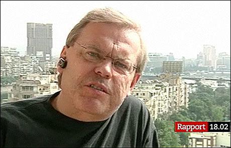 TATT TIL FANGE: SVT-journalist Bert Sundström har vært forsvunnet i Kairo siden klokken 14.15 torsdag. Foto: SVT