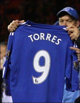 I BLÅ DRAKT: Fernando Torres kan debutere i den blå Chelsea-drakten mot Liverpool søndag. Foto: John Walton, Pa Photos