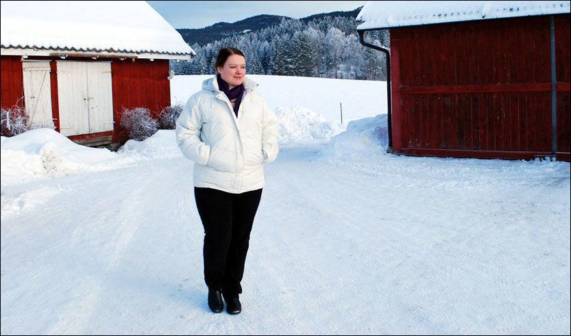 MER ENN TYKK: I bloggen thebrainmine.blogspot.com blogger Gunn Marit om livsstilsendringen sin, og deler sine erfaringer som overvektig. - Men jeg skriver om mye annet også. Jeg er så mye mer enn overvektig, sier Gunn Marit. Foto: Privat