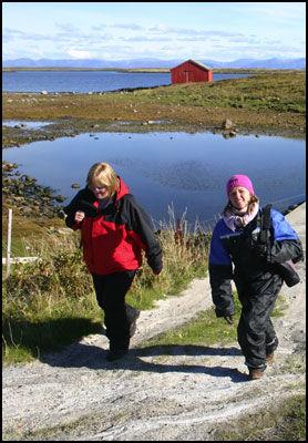 NYDELIG NATUR: Fotfolket har for alvor oppdaget Helgelandskysten og fotturøyene som som Lånan, Hysvær og Skogsholmen. Foto: DAG FONBÆK