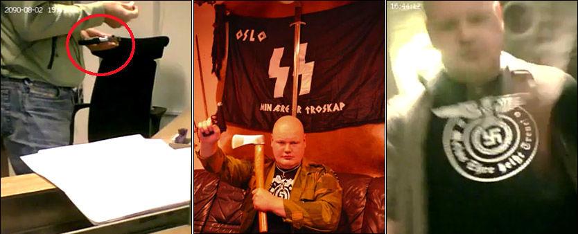 BEKYMRER: Den nye tilstedeværelsen av russiske høyreekstremister som Vyacheslav Datsik bekymrer politiet. Foto: Privat