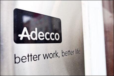 ANMELDT: Adecco Helse. Foto: Scanpix