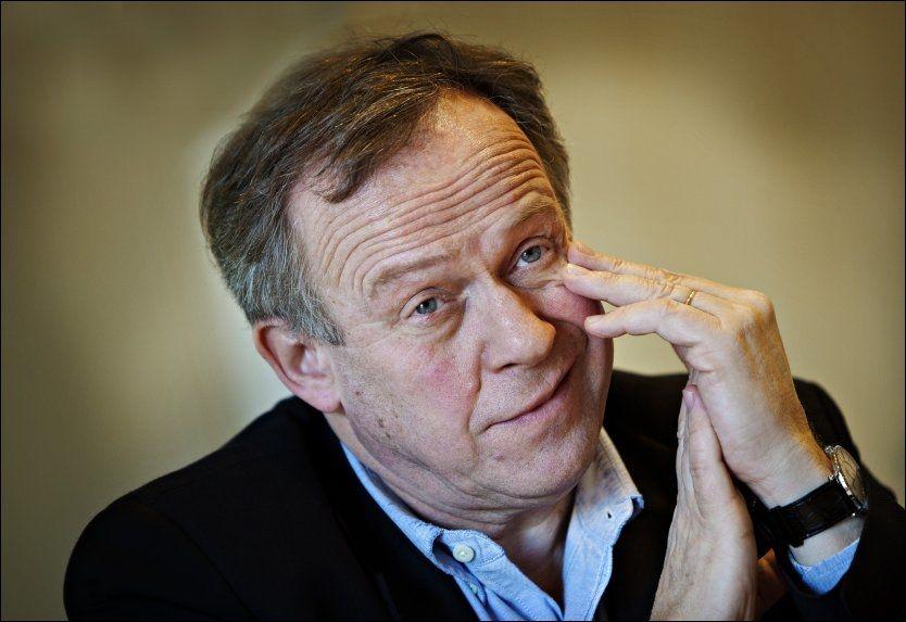 SMERTEFULLT: Landbruksminister Lars Peder Brekk (Sp) er satt ut av politisk spill etter at han falt i trappen onsdag formiddag. Foto: Aftenposten