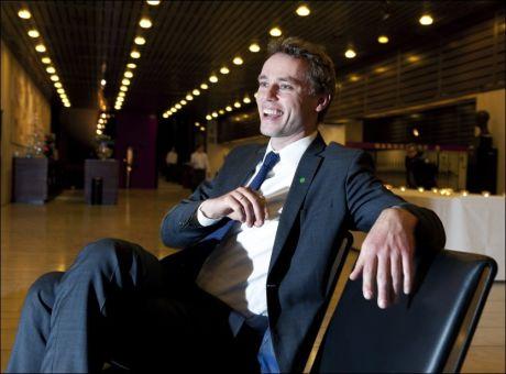 KRONPRINS: Ola Borten Moe blir ny statsråd etter partifellen Terje Riis-Johansen. Foto: Magnar Kirknes