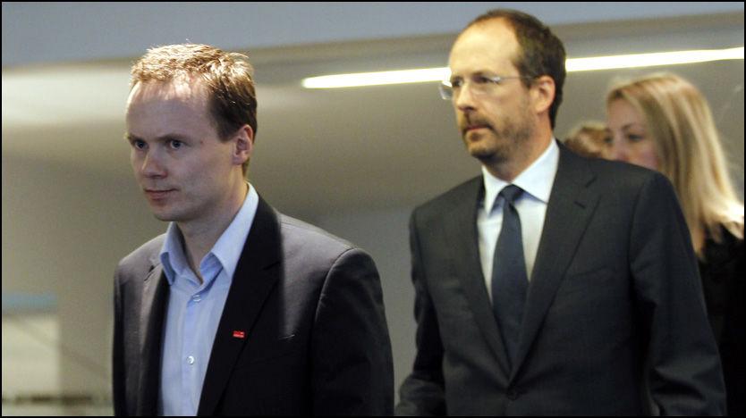 FLAU SJEF: Adecco-sjef Anders Øwre-Johnsen liker svært dårlig den situasjonen selskapet er i. - Det er en pinlig og flau situasjon. Foto: Scanpix