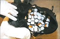Tatt med piller for 800.000 kroner