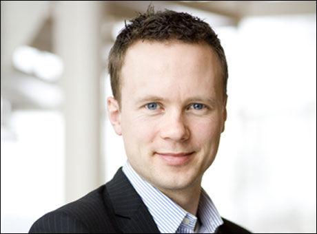 GOD LØNN: Adeccos konsernsjef Andreas Øwre-Johnsen (37) har en fastlønn på 1.450.000 kroner i året. Foto: Adecco