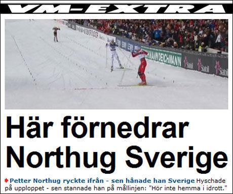 Foto: Faksimile Expressen.se