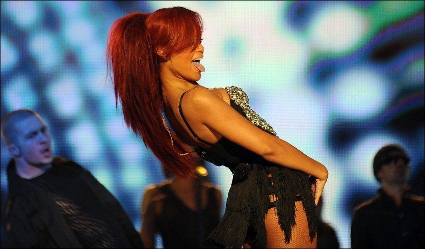 NORGESVENN: Rihanna spiller to konserter i Norge i løpet av 2011. Foto: AP